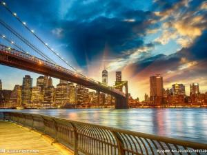 光影下奇姿百态桥