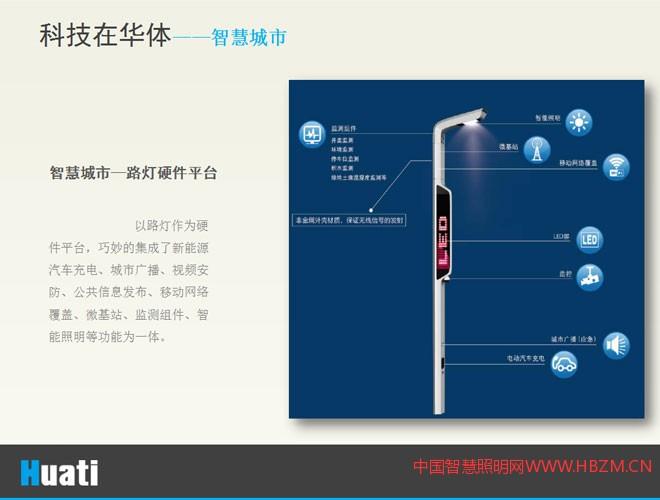 智慧城市―路灯硬件平台