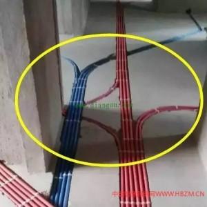 老电工讲解:布电线不要追求美观,横平竖直都是骗人的