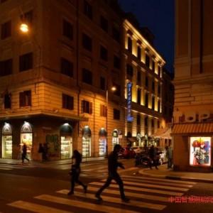 梳理载体和分析空间做好一条街道的照明