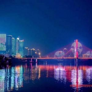 打造南充魅力夜景,顺舟智能助力一江两岸景观亮化项目完成