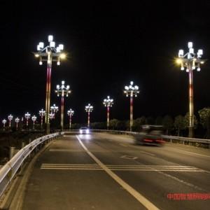 景观路灯、文化照明点靓多彩冕宁