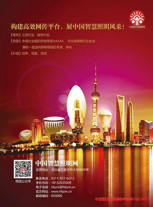 中国智慧照明网宣传彩页