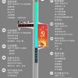 新建道路如何做好智慧灯杆规划方案